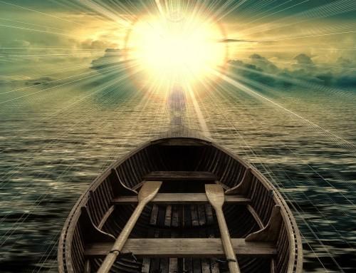 Wie steuerst du dein Schiff?